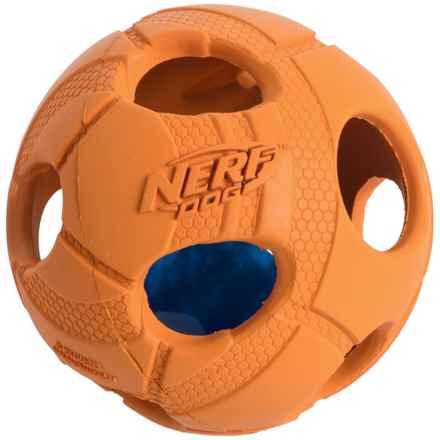 Nerf Dog Bash Ball Light-Up Dog Toy - Medium in Orange - Closeouts