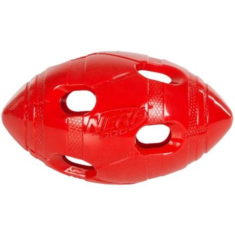 Nerf Dog Bash Football Feeder Dog Toy