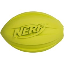 Nerf Dog Football O' Treats Feeder Dog Toy in Green - Closeouts