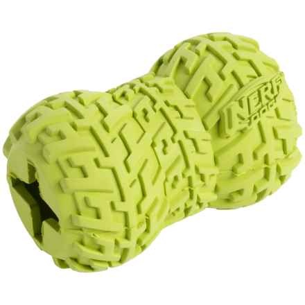 Nerf Dog Tire Treat Feeder Dog Toy - Small in Green - Closeouts