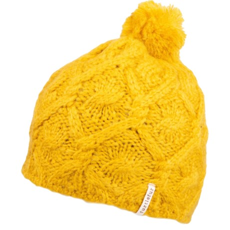 Nessy Knit Beanie (For Women) - GOLD (O/S )