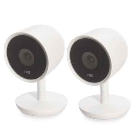 Nest Cam IQ Indoor Smart Home Security Cameras - 2-Pack in See Photo - Closeouts