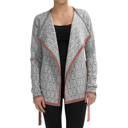 Neve Ada Wrap Sweater - Merino Wool (For Women) in Grey Heather - Closeouts