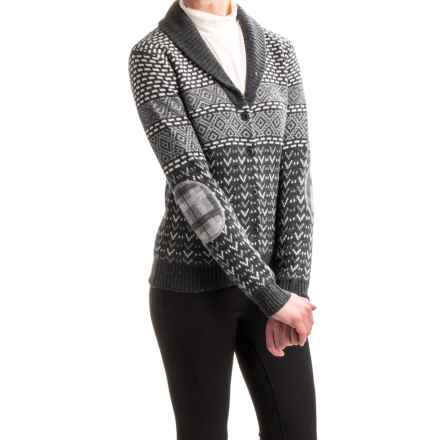 Neve Addison Cardigan Sweater - Merino Wool, Shawl Collar (For Women) in Black - Closeouts