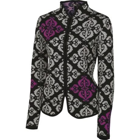 Neve Alanna Cardigan Sweater - Merino Wool (For Women) in Black