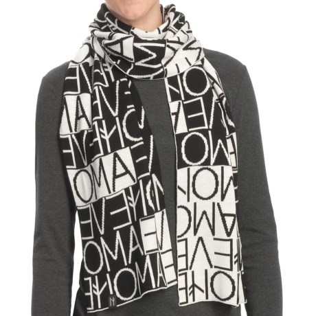 Neve Allegra High-Performance Sport Blend Scarf (For Women) in Black