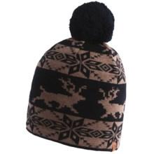 Neve Amelia Beanie Hat - Merino Wool (For Women) in Black - Closeouts