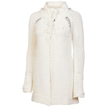 Neve Ashlan Button Cardigan Sweater (For Women) in White - Closeouts