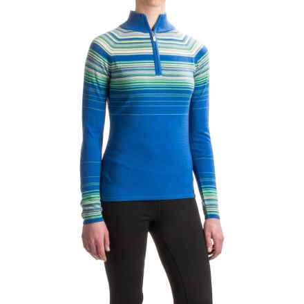 Neve Ashley Sweater - Merino Wool, Zip Neck (For Women) in Ocean - Closeouts