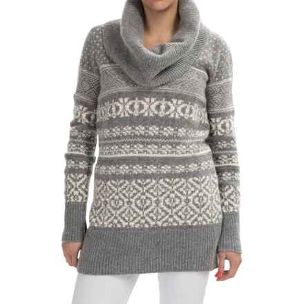 Neve Bonnie Sweater - Lambswool (For Women) in Grey Heather - Closeouts