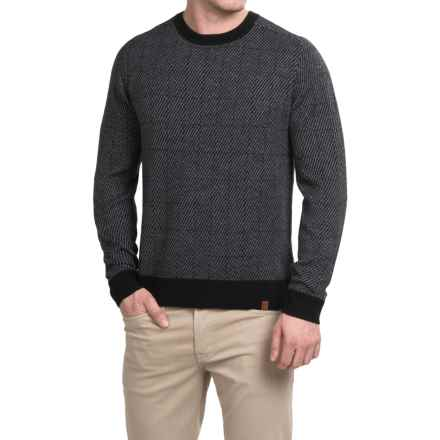 Neve Brad Ultrafine Merino Wool Sweater (For Men) in Black - Closeouts