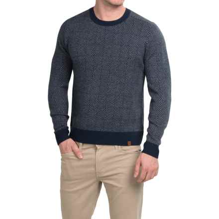 Neve Brad Ultrafine Merino Wool Sweater (For Men) in Navy - Closeouts