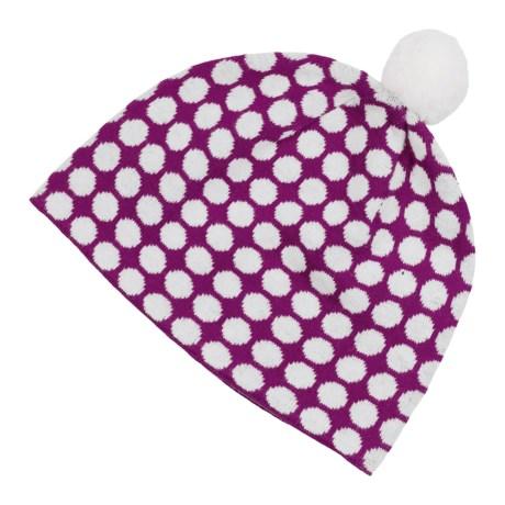 Neve Cami Beanie Hat - Cotton-Merino Wool (For Women) in Gem/Snow