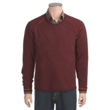 Neve Charles Lambswool Sweater - V-Neck (For Men) in Bark - Closeouts