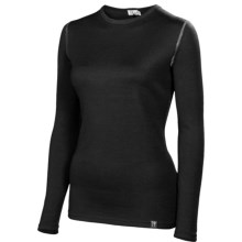 Neve Cirque Base Layer Top - Merino Wool, Crew Neck, Long Sleeve (For Women) in Black - Closeouts
