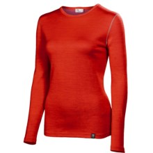 Neve Cirque Base Layer Top - Merino Wool, Crew Neck, Long Sleeve (For Women) in Red - Closeouts
