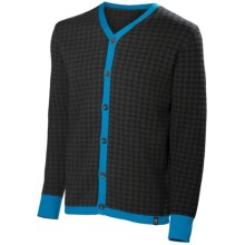 Neve Cooper Cardigan Sweater (For Men) in Glacier - Closeouts