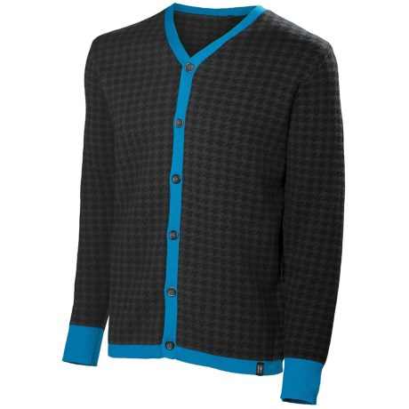 Neve Cooper Cardigan Sweater (For Men) in Sprout