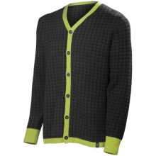 Neve Cooper Cardigan Sweater (For Men) in Sprout - Closeouts