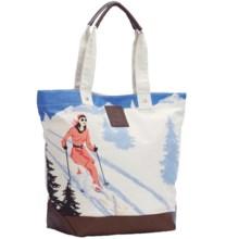 Neve Courchevel Tote Bag - Canvas in Courchevel - Closeouts