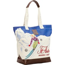 Neve Courchevel Tote Bag - Canvas in St. Anton - Closeouts