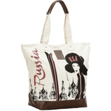 Neve Courchevel Tote Bag - Canvas in Team Russia - Closeouts