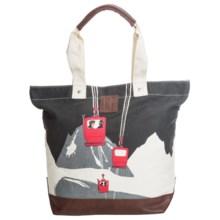 Neve Courchevel Tote Bag - Canvas in Tignes - Closeouts