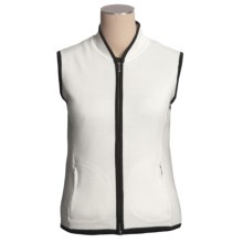 Neve Deena Vest - Merino Wool (For Women) in Snow - Closeouts