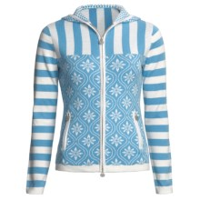 Neve Electra Sweater - Hooded (For Women) in Lake Blue - Closeouts
