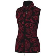 Neve Faye Zip Vest - Merino Wool (For Women) in Black - Closeouts