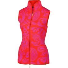 Neve Faye Zip Vest - Merino Wool (For Women) in Papaya - Closeouts