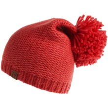 Neve Grace Beanie Hat - Wool Blend (For Women) in Papaya - Closeouts