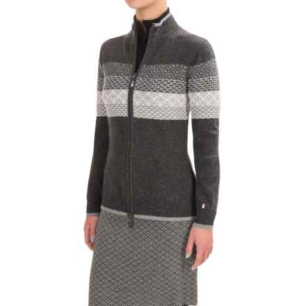 Neve Grace Cardigan Sweater - Merino Wool (For Women) in Black - Closeouts