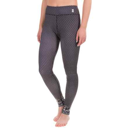 Neve Greta Folk Printed Leggings (For Women) in Black - Closeouts