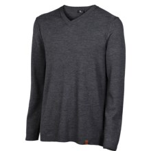 Neve Hunter Sweater - Merino Wool, V-Neck (For Men) in Charcoal - Closeouts