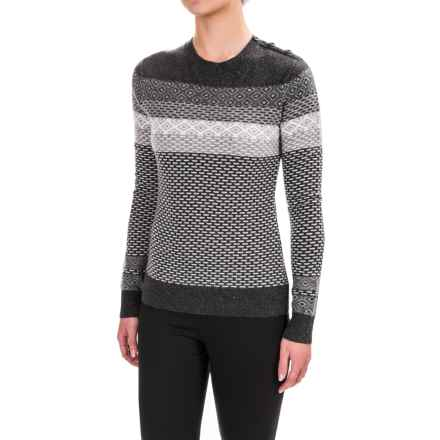 Neve Ivy Sweater - Merino Wool (For Women) in Black - Closeouts