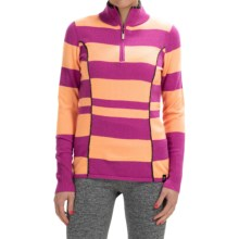 Neve Izzy Sweater - Merino Wool, Zip Neck (For Women) in Blossom - Closeouts