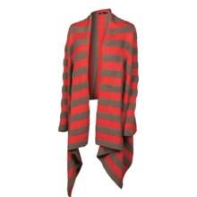 Neve Jaclyn Wrap Cardigan Sweater (For Women) in Papaya - Closeouts