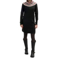 Neve Jaide Sweater Dress - Merino Wool, Long Sleeve (For Women) in Black - Closeouts