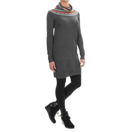 Neve Jaide Sweater Dress - Merino Wool, Long Sleeve (For Women) in Charcoal - Closeouts