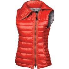 Neve Jamie Down Vest - 600 Fill Power (For Women) in Papaya - Closeouts