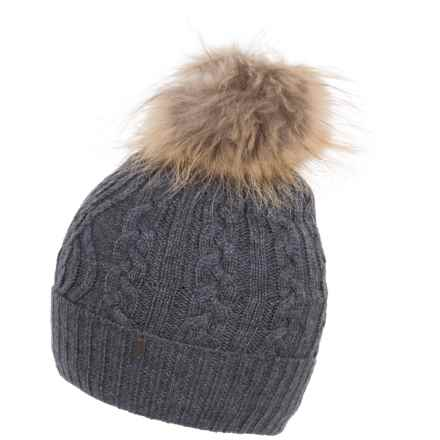 Neve Jane Beanie (For Women) in Charcoal - Closeouts