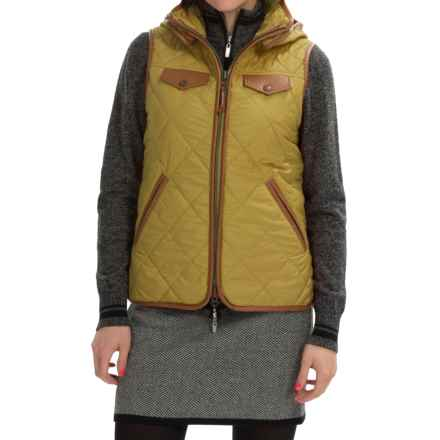 Neve Jett Quilted Hooded Vest (For Women) in Moss - Closeouts
