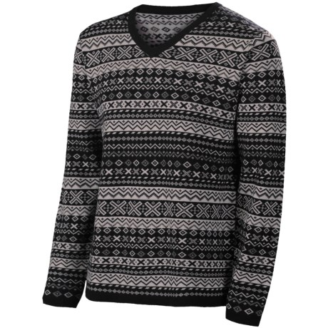 Neve Johan Sweater - Merino Wool (For Men) in Black