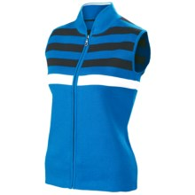 Neve Jolie Vest - Full Zip (For Women) in Turquoise - Closeouts