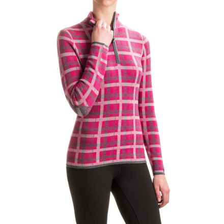 Neve Kate Sweater - Merino Wool, Zip Neck (For Women) in Fuschia - Closeouts
