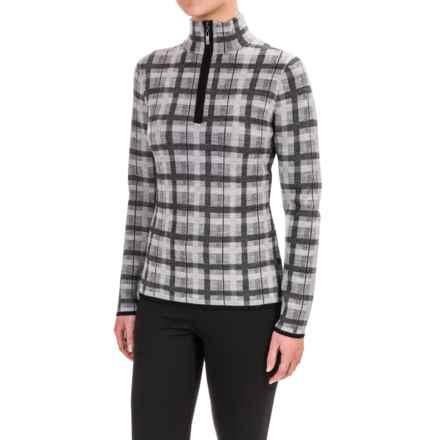 Neve Kate Sweater - Merino Wool, Zip Neck (For Women) in Grey - Closeouts