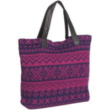 Neve Kay Wool Blend Bag (For Women) in Raspberry - Closeouts