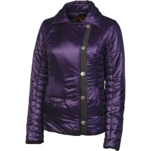 Neve Kelly Quilted Jacket - Insulated (For Women) in Eggplant - Closeouts