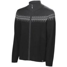 Neve Lars Cardigan Sweater - Merino Wool (For Men) in Black - Closeouts